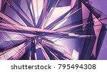 violet beautiful illustration... | Shutterstock . vector #795494308