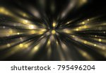 abstract gold background.... | Shutterstock . vector #795496204