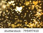 abstract background vector... | Shutterstock .eps vector #795497410