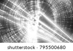 abstract white and black... | Shutterstock . vector #795500680