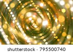 abstract background  gold... | Shutterstock . vector #795500740