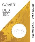 minimum vector coverage.... | Shutterstock .eps vector #795513280