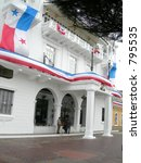 presidential palace panama city ... | Shutterstock . vector #795535