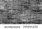 dots and spots of halftone... | Shutterstock .eps vector #795591370