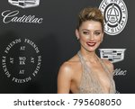 amber heard at the art of... | Shutterstock . vector #795608050