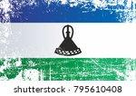 flag of lesotho  kingdom of... | Shutterstock . vector #795610408