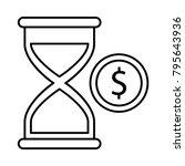 hourglass stopwatch timer   Shutterstock .eps vector #795643936