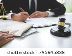 bribery and corruption concept  ...   Shutterstock . vector #795645838