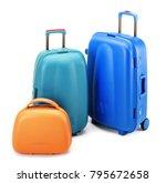 color hardshell cases set... | Shutterstock . vector #795672658