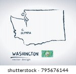 washington national vector... | Shutterstock .eps vector #795676144