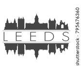 leeds england great britain uk... | Shutterstock .eps vector #795676360