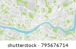 urban vector city map of... | Shutterstock .eps vector #795676714