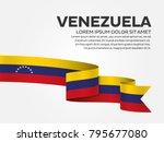 venezuela flag background | Shutterstock .eps vector #795677080