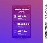 finance money app ux ui design