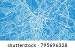 urban vector city map of... | Shutterstock .eps vector #795696328