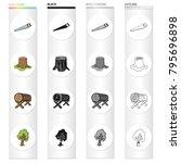 enterprise  logger  ecology and ...   Shutterstock .eps vector #795696898