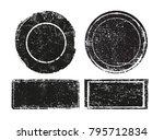 vector grunge stamps.grunge... | Shutterstock .eps vector #795712834