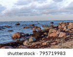 coast of the baltic sea with... | Shutterstock . vector #795719983