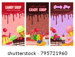 posters template with... | Shutterstock .eps vector #795721960