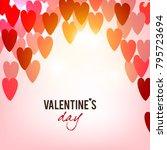 elegant background with vector... | Shutterstock .eps vector #795723694
