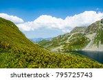 mountains. a beautiful panorama ...   Shutterstock . vector #795725743