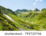 mountains. a beautiful panorama ...   Shutterstock . vector #795725746