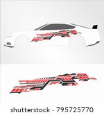 vinyls   decals for car modif... | Shutterstock .eps vector #795725770
