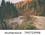magnificent natural landscapes... | Shutterstock . vector #795725998