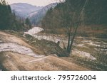 magnificent natural landscapes... | Shutterstock . vector #795726004