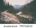 magnificent natural landscapes... | Shutterstock . vector #795726010