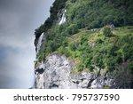 beautiful landscape in... | Shutterstock . vector #795737590