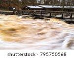 Vast Amounts Of Water Violentl...