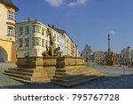 olomouc  czech republic  ... | Shutterstock . vector #795767728