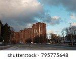 riga  latvia   january 8  2018  ... | Shutterstock . vector #795775648