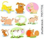 pet set | Shutterstock .eps vector #79577731