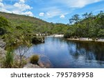 beautiful river in a brazilian... | Shutterstock . vector #795789958