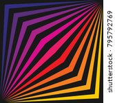 colorful vector geometric lines ... | Shutterstock .eps vector #795792769