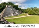 palenque  mexico   november 29  ... | Shutterstock . vector #795822250