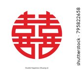 Chinese Character Double...