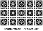 black and white textured... | Shutterstock . vector #795825889