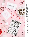 valentine's day or love... | Shutterstock . vector #795830926