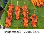 traditional bali food on the... | Shutterstock . vector #795836278