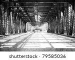 old  b w  chicago design  ... | Shutterstock . vector #79585036