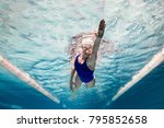 Underwater Picture Of Female...
