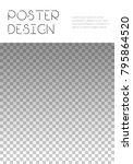 brochure template design.... | Shutterstock .eps vector #795864520
