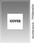 brochure template design.... | Shutterstock .eps vector #795864604