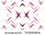 colorful seamless zigzag... | Shutterstock . vector #795890896