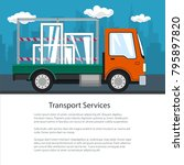 brochure of lorry  small truck
