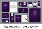corporate identity branding...   Shutterstock .eps vector #795912499