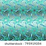 illustration of a mosaic image  ... | Shutterstock . vector #795919354